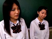 女子校生いじめレイプ動画 親友の目の前でデカちんいじめられっこに犯される羞恥 Part4
